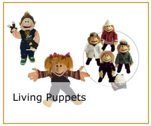 Living Puppets - Handpuppen