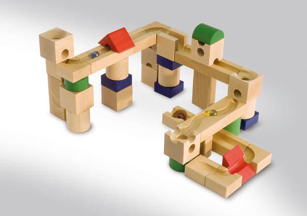 Produkte von Cuboro AG bei traumspielzeug aus holz  Cuboro Murmelbahn