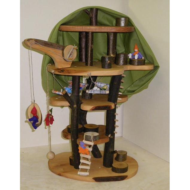 baumhaus zubeh r biegepuppen fp6 puppenh user holzspielzeug. Black Bedroom Furniture Sets. Home Design Ideas