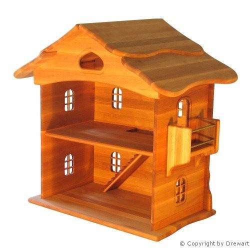 Groses Puppenhaus Aus Holz Von Eichhorn ~ Produkte von Drewart bei traumspielzeug aus holz  Drewart Puppenhaus